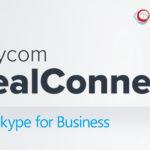 Polycom połączenia wideo Skype for Business jednym kliknięciem