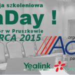Konferencja szkoleniowa YeaDay 23 marca 2015