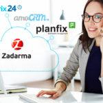 Zadarma udostępniła integrację z popularnymi systemami CRM